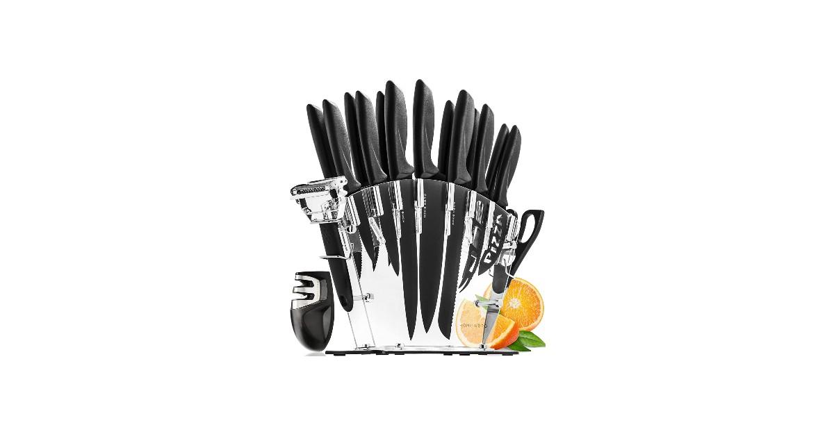 17 Piezas Set Cuchillos Cocina Profesional